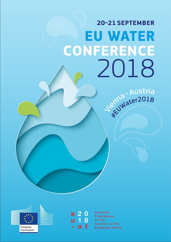 <b>EU Water conference 2018<br> September 20-21, Vienna, Austria