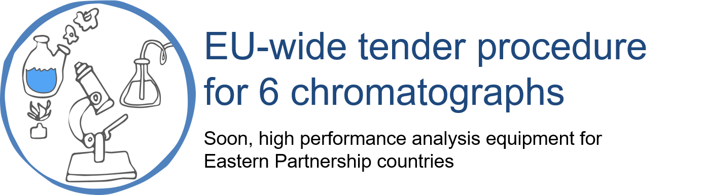 EU-wide tender procedure for 6 chromatographs: Soon, high performance analysis equipments for Eastern Partnership countries