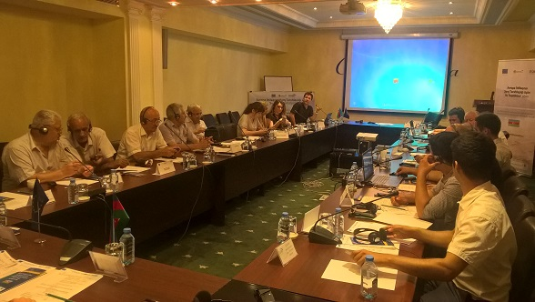 "Baku, Azerbajan: workshop on ""River Basin Management Plan Development of upstream Kura River Basin District"""